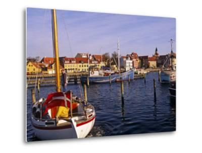 Harbour and Town of Faaborg, Denmark-Paul Harris-Metal Print