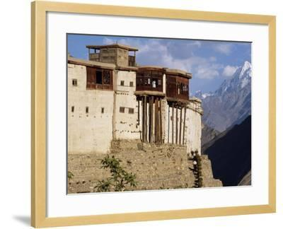 Baltit Fort, One of the Great Sights of the Karakoram Highway-Amar Grover-Framed Photographic Print