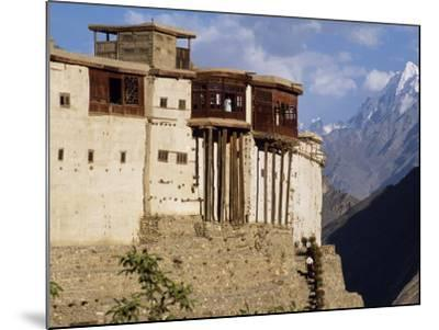 Baltit Fort, One of the Great Sights of the Karakoram Highway-Amar Grover-Mounted Photographic Print