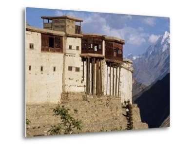 Baltit Fort, One of the Great Sights of the Karakoram Highway-Amar Grover-Metal Print