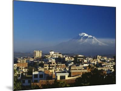 Dawn over Chimborazo, Ecuador's Highest Mountain at 6310M-Julian Love-Mounted Photographic Print