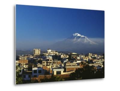 Dawn over Chimborazo, Ecuador's Highest Mountain at 6310M-Julian Love-Metal Print