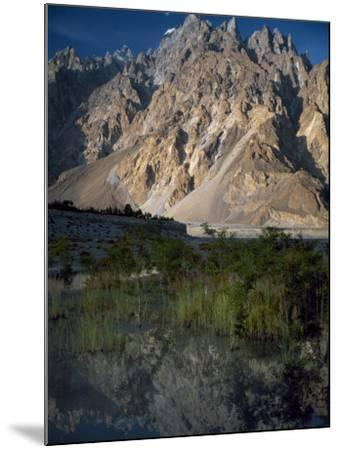 Cathedral Spire Mountains Passu in Northern Pakistan-Antonia Tozer-Mounted Photographic Print