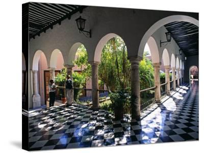 Municipal Hacienda, Merida, Yucatan State, Mexico-Paul Harris-Stretched Canvas Print