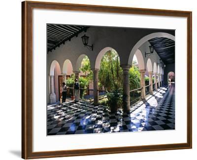 Municipal Hacienda, Merida, Yucatan State, Mexico-Paul Harris-Framed Photographic Print