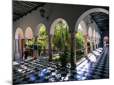 Municipal Hacienda, Merida, Yucatan State, Mexico-Paul Harris-Mounted Photographic Print