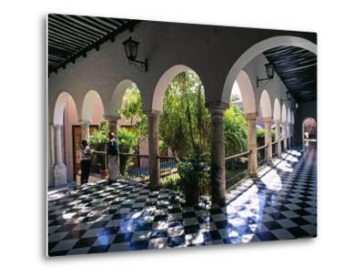 Municipal Hacienda, Merida, Yucatan State, Mexico-Paul Harris-Metal Print