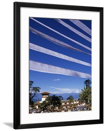 Dochu La, the Pass Is a Mystical Place with Views North to the Himalayas, Bhutan-Paul Harris-Framed Photographic Print