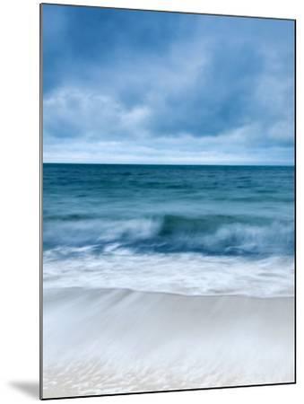 Sunrise at Porthminster Beach, Near St, Ives, Cornwall, UK-Nadia Isakova-Mounted Photographic Print