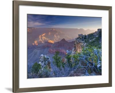 Arizona, Grand Canyon, from Mather Point, USA-Alan Copson-Framed Photographic Print