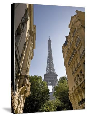 Eiffel Tower, Paris, France-Neil Farrin-Stretched Canvas Print