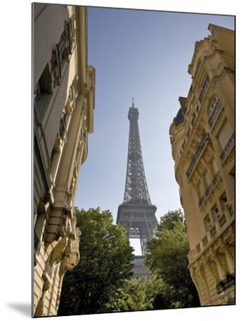 Eiffel Tower, Paris, France-Neil Farrin-Mounted Photographic Print