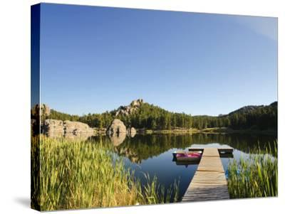 Sylvan Lake, Black Hills National Forest, Custer State Park, South Dakota-Michele Falzone-Stretched Canvas Print