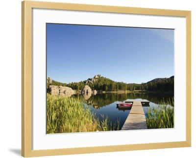 Sylvan Lake, Black Hills National Forest, Custer State Park, South Dakota-Michele Falzone-Framed Photographic Print