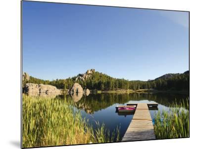 Sylvan Lake, Black Hills National Forest, Custer State Park, South Dakota-Michele Falzone-Mounted Photographic Print