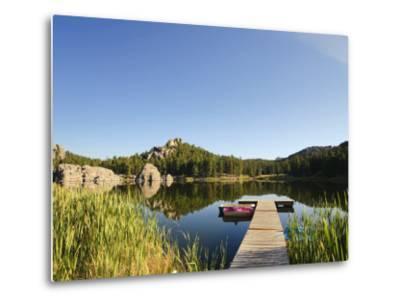 Sylvan Lake, Black Hills National Forest, Custer State Park, South Dakota-Michele Falzone-Metal Print