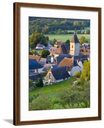 Village D'Aucun, Hautes- Pyrenees, France-Doug Pearson-Framed Photographic Print