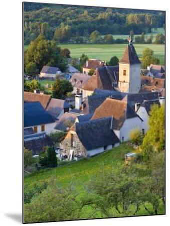 Village D'Aucun, Hautes- Pyrenees, France-Doug Pearson-Mounted Photographic Print