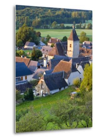 Village D'Aucun, Hautes- Pyrenees, France-Doug Pearson-Metal Print