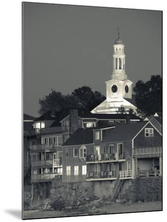 Massachusetts, Cape Ann, Rockport, Town View from Front Beach, USA-Walter Bibikow-Mounted Photographic Print