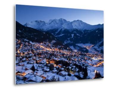 Verbier, Valais, Four Valleys Region, Switzerland-Gavin Hellier-Metal Print