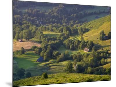 Valley Floor at Dawn, Grange Sous La Neige, Midi-Pyrenees, France-Doug Pearson-Mounted Photographic Print