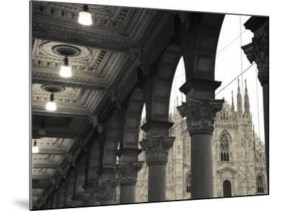 Lombardy, Milan, Piazza Del Duomo, Duomo, Cathedral, Dawn, Italy-Walter Bibikow-Mounted Photographic Print