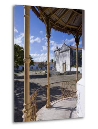 Catholic Church on the Main Square of Ibo Island, Part of the Quirimbas Archipelago, Mozambique-Julian Love-Metal Print