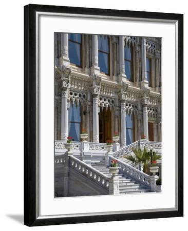 Ciragan Palace, Standing on Shores of Bosphorus in Istanbul, Is Now a 5 Star Kempinski Hotel-Julian Love-Framed Photographic Print