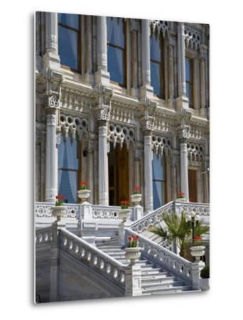Ciragan Palace, Standing on Shores of Bosphorus in Istanbul, Is Now a 5 Star Kempinski Hotel-Julian Love-Metal Print