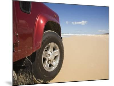 Queensland, Fraser Island, Four Wheel Driving on Sand Highway of Seventy-Five Mile Beach, Australia-Andrew Watson-Mounted Photographic Print