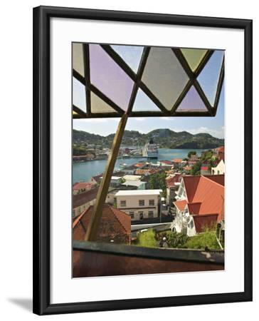 St, George's, Grenada, Caribbean-Walter Bibikow-Framed Photographic Print