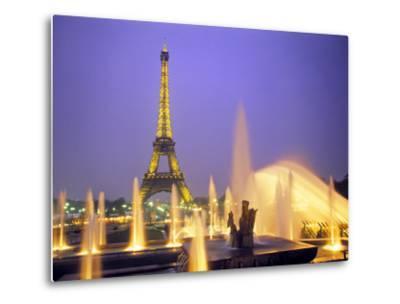 Eiffel Tower, Paris, France-Peter Adams-Metal Print