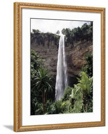 Situated in the Fertile Foothills of Mount Elgon, Sipi Falls Is Small But Beautiful-Nigel Pavitt-Framed Photographic Print