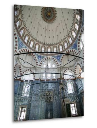 Rustem Pasha Mosque, Istanbul, Turkey, Europe-Godong-Metal Print
