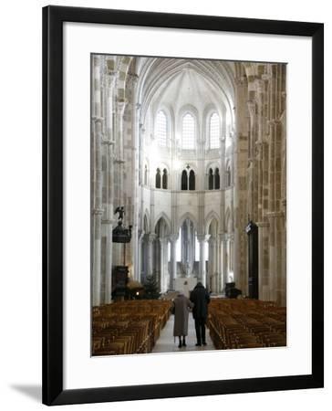 Vezelay Basilica, UNESCO World Heritage Site, Vezelay, Yonne, Burgundy, France, Europe-Godong-Framed Photographic Print