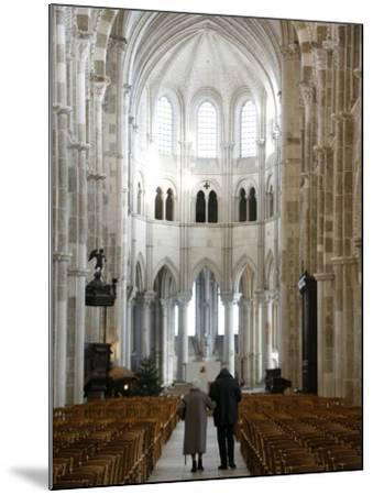 Vezelay Basilica, UNESCO World Heritage Site, Vezelay, Yonne, Burgundy, France, Europe-Godong-Mounted Photographic Print