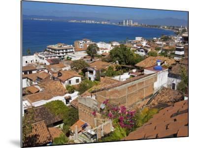 Tiled Roofs, Puerto Vallarta, Jalisco State, Mexico, North America-Richard Cummins-Mounted Photographic Print