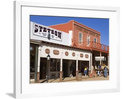 Tombstone, Cochise County, Arizona, United States of America, North America-Richard Cummins-Framed Photographic Print