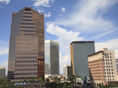 Downtown, Tucson, Arizona, United States of America, North America-Wendy Connett-Premium Photographic Print