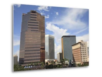 Downtown, Tucson, Arizona, United States of America, North America-Wendy Connett-Metal Print