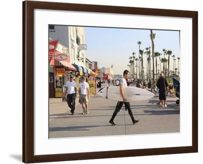 Venice Beach, Los Angeles, California, United States of America, North America-Wendy Connett-Framed Photographic Print