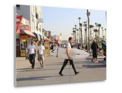 Venice Beach, Los Angeles, California, United States of America, North America-Wendy Connett-Metal Print