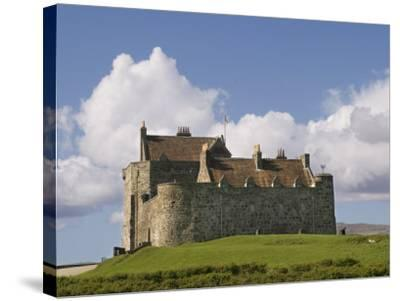 Duart Castle, Mull, Inner Hebrides, Scotland, United Kingdom, Europe-Rolf Richardson-Stretched Canvas Print