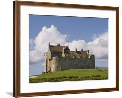 Duart Castle, Mull, Inner Hebrides, Scotland, United Kingdom, Europe-Rolf Richardson-Framed Photographic Print