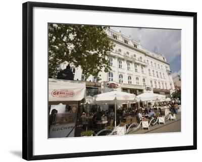 Cafe Gerbeaud, Budapest, Hungary, Europe-Jean Brooks-Framed Photographic Print