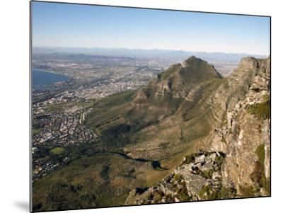 Table Mountain, Cape Town, South Africa, Africa-Andrew Mcconnell-Mounted Photographic Print