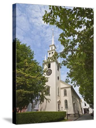 Trinity Church Dating from 1726-Robert Francis-Stretched Canvas Print