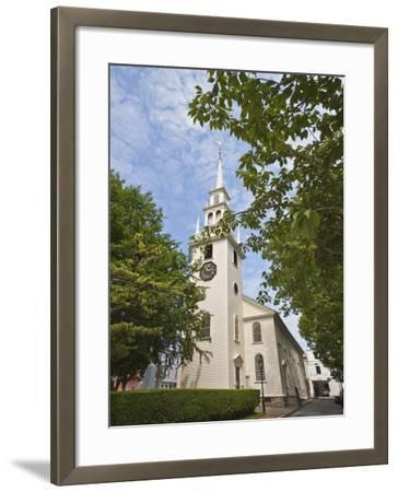 Trinity Church Dating from 1726-Robert Francis-Framed Photographic Print