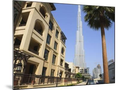 Burj Khalifa, Formerly the Burj Dubai, the Tallest Tower in the World at 818M-Amanda Hall-Mounted Photographic Print